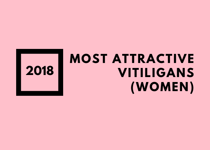 Most Attractive Vitiligans - women