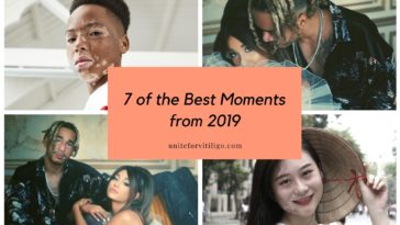 2019 vitiligo moments