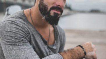 Portuguese man with vitiligo